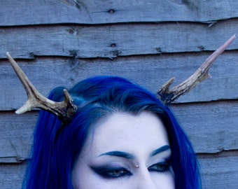 Medium Deer Antlers Headband