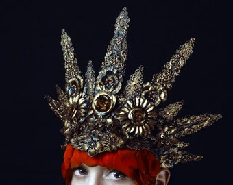 Golden Halo headdress