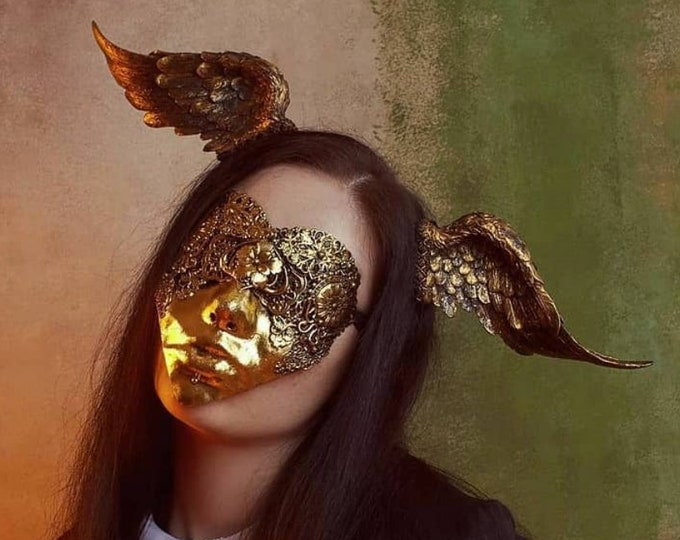 Blind Heart Shaped Mask - READY MADE