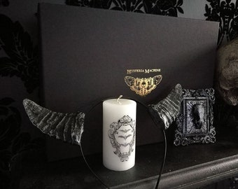 Hysteria Machine X First Edition Candle Company halloween box
