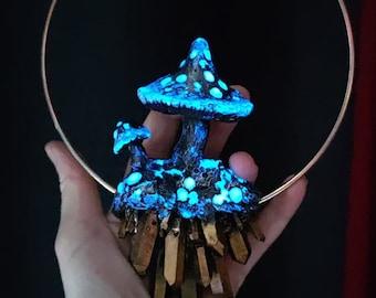Mushroom Ring Large WITH GLOW