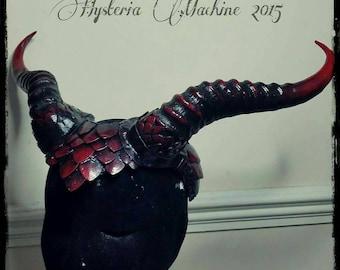 Dragon scale Horned Headdress