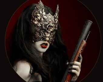 Blind Cat Mask