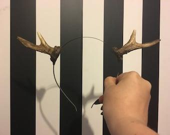 Mini Deer Faun Antlers headband - READY MADE