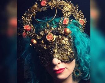 Pomegranate - Mask or Halo / Mask & Halo Combo