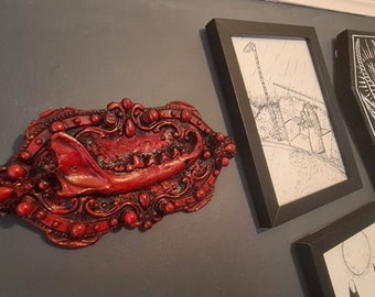 Halloween - Fox Jaw Frame In Blood Red