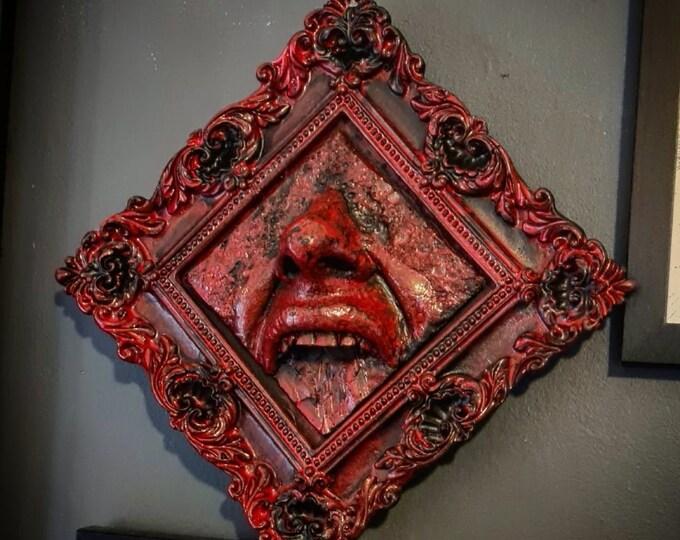 Halloween - Scream Wall Art In Blood Red