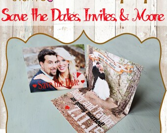 Custom Pop Up Invitations and Save the Dates