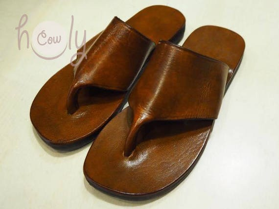3e91855472c2a5 Handmade Leather Sandals Brown Leather Sandals Womens