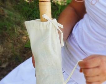 100% White Cotton Umbrella Bag, Parasol Bag, Umbrella Carrier, Parasol Carrier, White Umbrella Bag, White Parasol Bag, Umbrella, Parasol