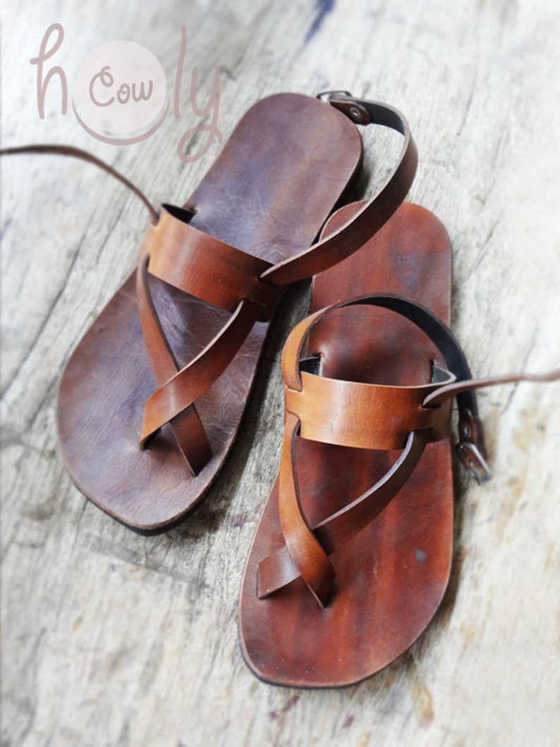 40c4df646 Handmade Sandals Leather Sandals Mens Sandals. Womens