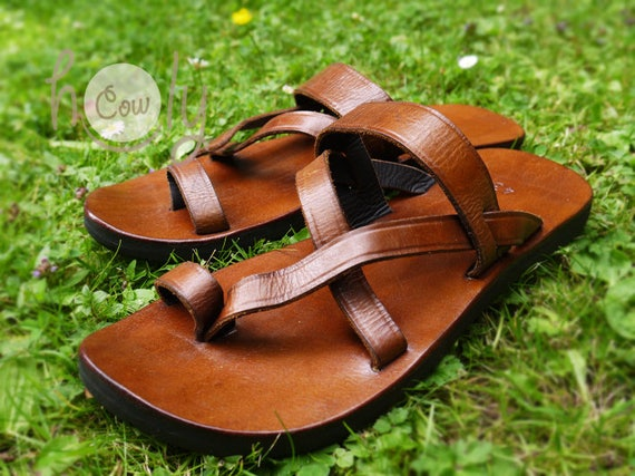 Sandales en cuir en fait Sandales fait cuir BF5fRHqxnf