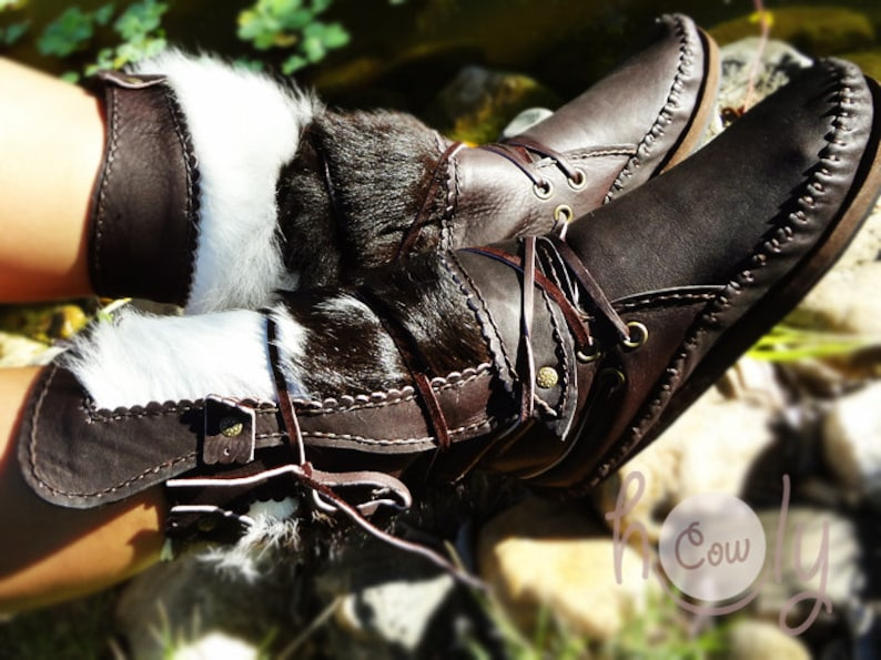 Leather Leather Boots Hand Stitched Leather Moccasins Womens Boots Womens Moccasins Moccasin Boots Mens Moccasins Leather Moccasins