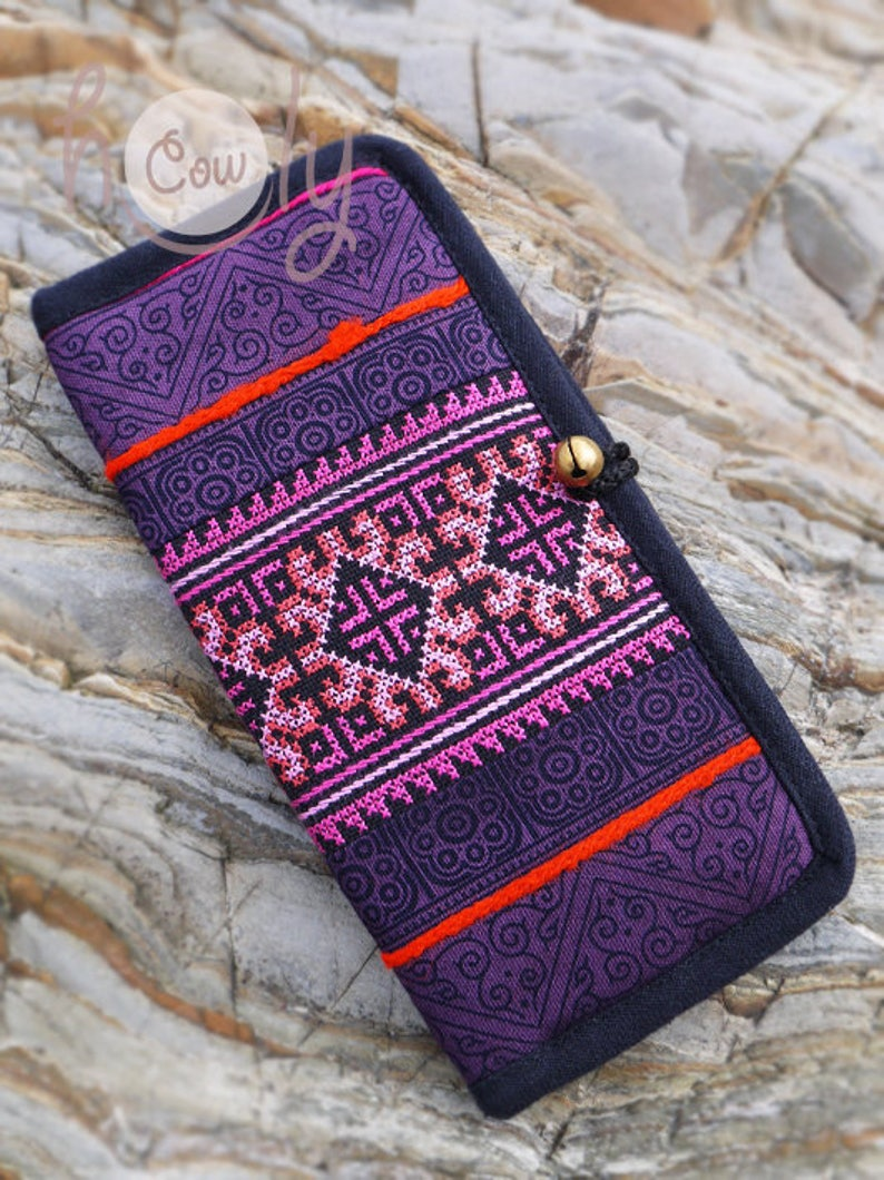 d22105e7f2d Tribal cartera monedero Hippie gitana cartera monedero