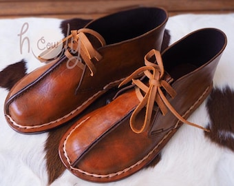Brown Leather Shoes, Womens Shoes, Mens Leather Shoes, Leather Shoes Women, Boho Shoes, Hippie Shoes, Handmade Shoes, Leather Shoes Men