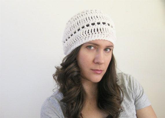 Sommer Baskenmütze Leichte Mütze Häkeln Hut Boho Mütze Etsy