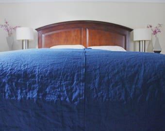Linen Bed Cover, Linen Bedspread, Linen Blanket Bed Throw Blanket, Rustic Bedding Linen Throw Blanket, Full, Queen, King