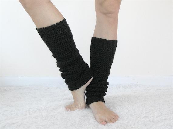 Yoga Beinlinge Frauen 80er Jahre Bein Stulpen Häkeln Etsy