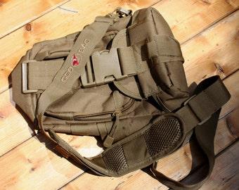 """Black Tactical Shoulder """"GEO~BAG"""""""