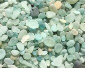 Seaham sea glass 200 grams seaglass lot bulk random selection natural jewellery arts crafts aqua beach clear ocean surf