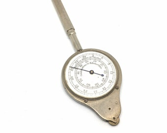 Antique French opisometer Depose geography maps mapping measuring cartography map measurer curvimeter