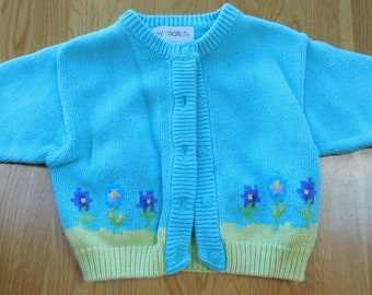Able Gymboree Little Girls Blue Sun Boat Cardigan Sweater 18-24 Months And T-shirt Clothing, Shoes & Accessories
