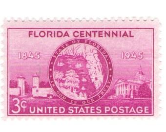 Unused 1945 - Florida Statehood - Vintage Postage Stamps Number 927