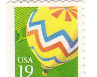 Unused 1991 Hot Air Balloon - Vintage Postage Stamps Number 2530