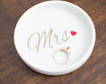 wedding ring dish mrs wedding ring holderbridal shower gifts etsy wedding unique bridal shower gift ideas wedding