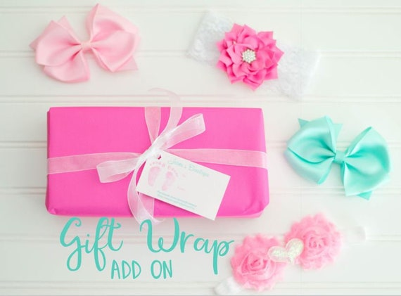 Add Gift Wrapping Gift Wrapping Service Baby Shower Gift Etsy