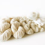 Weavers | Dyers Yarn Pack . Natural Undyed Yarns . Crochet Knitting Weaving Dyeing . Merino . Silk .Cotton . Lace . Roving