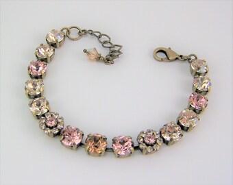 Swarovski Crystal Bracelet, Cup Chain Bracelet, Tennis Bracelet, Swarovski Flower Bracelet, Chaton Bracelet, Mariana Bracelet, Silk Bracelet