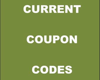 Current Coupon Codes - Details Only About How To Use My Coupon Codes - Do Not Attempt To Buy
