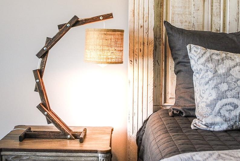 Bedside Lamp Modern Bedside Lamps Reading Lamp For Bed | Etsy