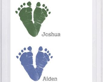 Simple Hearts Footprint Wall Art 1600_pap