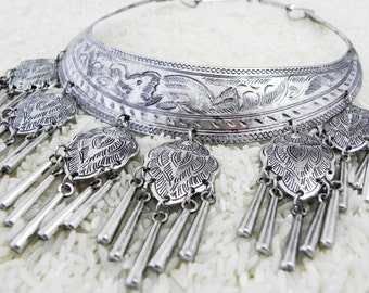 Medicine Necklace Hmong tribal jewelry