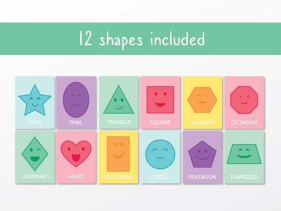 picture about Printable Shape Flash Cards known as Condition Flash Playing cards Printable Condition Flash Playing cards Form Attractiveness  Education Styles Preschool Nursery Flash Playing cards Clroom Styles