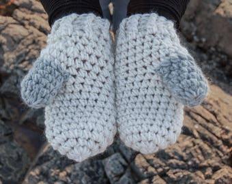 CROCHET PATTERN - Scato Mittens Crochet Pattern - PDF Crochet Pattern