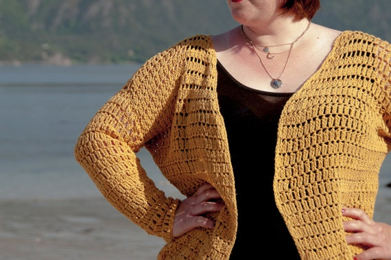 Crochet Pattern Summer Cardigan Crochet Pattern Pdf Etsy