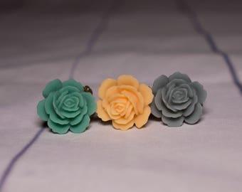 Small Rose Rings