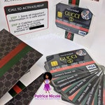 Designer Inspired Credit Card Invitation