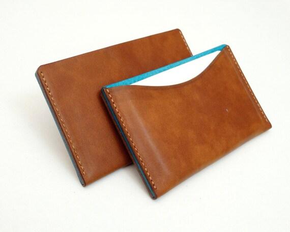 Visitenkartenetui Leder Etui Für Visitenkarten Und Kreditkarten Kreditkartenetui Handcraft Visitenkartenetuis Leder Mini Geldbörse