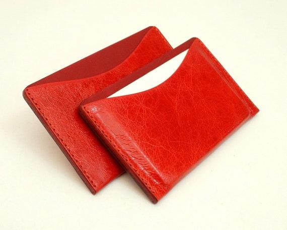 Visitenkartenetui Leder Etui Für Visitenkarten Und Kreditkarten Kreditkartenetui Handcraft Leather Business Card Holder Handmade Mainz