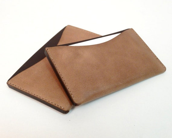 Business Card Holder Leather Case For Business Cards And Credit Cards Credit Card Holder Handcraft