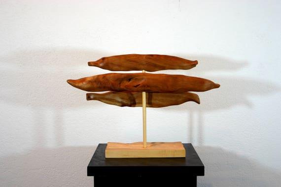 Abstrakte Holz Skulptur Kunst moderne Stil abstrakte | Etsy
