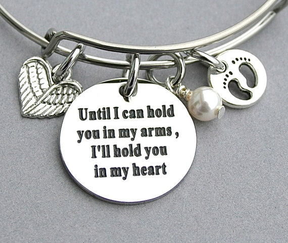 Until I Can Hold You In My Arms Ill Hold You In My Heart Etsy