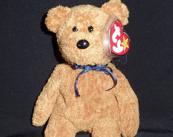 Fuzz the Bear Beanie Baby Original-Retired 7624c2626b02