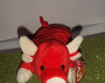 eece860dacf Snort the Bull Beanie Baby Original  4002