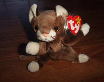 Pounce the Cat Beanie Babies Original-Retired 9276595ec2c4