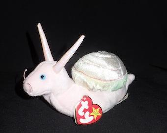 Swirly the Snail Beanie Baby Original a55e0ac487d